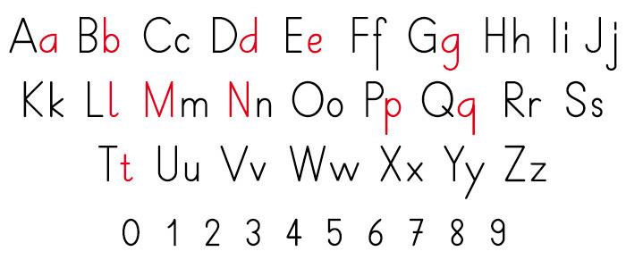 Alphabet francais majuscule et minuscule a imprimer best - L alphabet en francais a imprimer ...